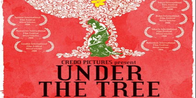 Under the tree image