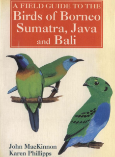 A Field Guide to the Birds of Borneo, Sumatra, Java, and Bali: The Greater Sunda Islands
