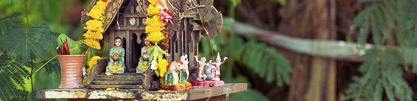 Southeast Asian spirit house