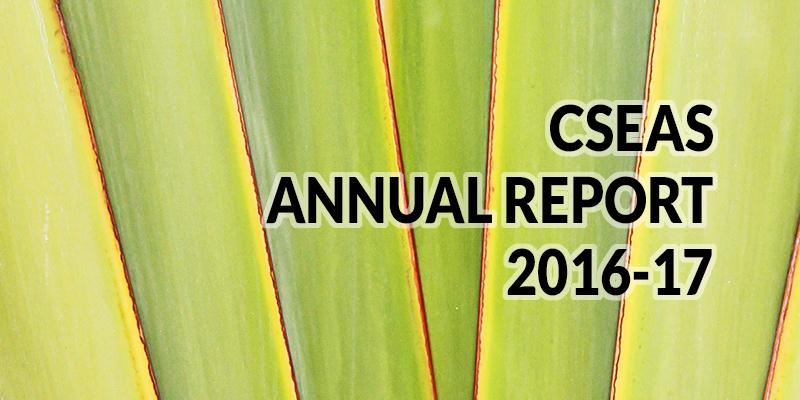CSEAS annual report 2016-2017