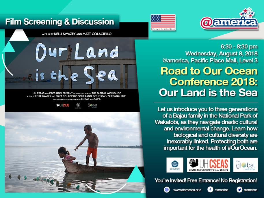 Our Land is the Sea Film Screening August 8, 2018, @america center