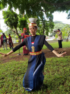 Female Toba Batak (North Sumatra) dancer