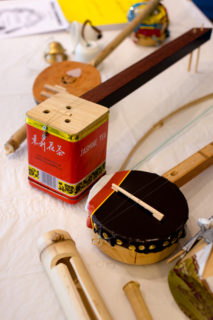 Handmade Thai instruments