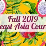 Fall 2019 sea course list