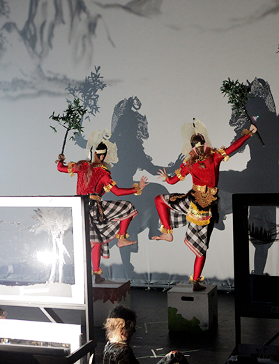 THEA 426: SEA Acting Workshop - Balinese Shadow Theatre (Puppets and Shadow Masks)