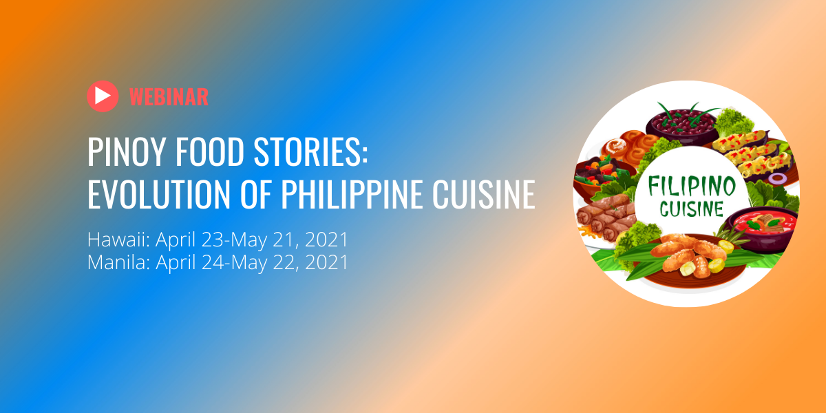 Filipino Cuisine Webinar